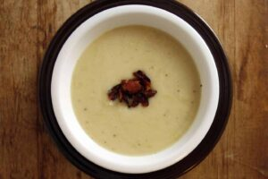 Celeraic Potato Leek Soup