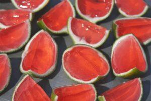 Watermelon Jell-O Shots