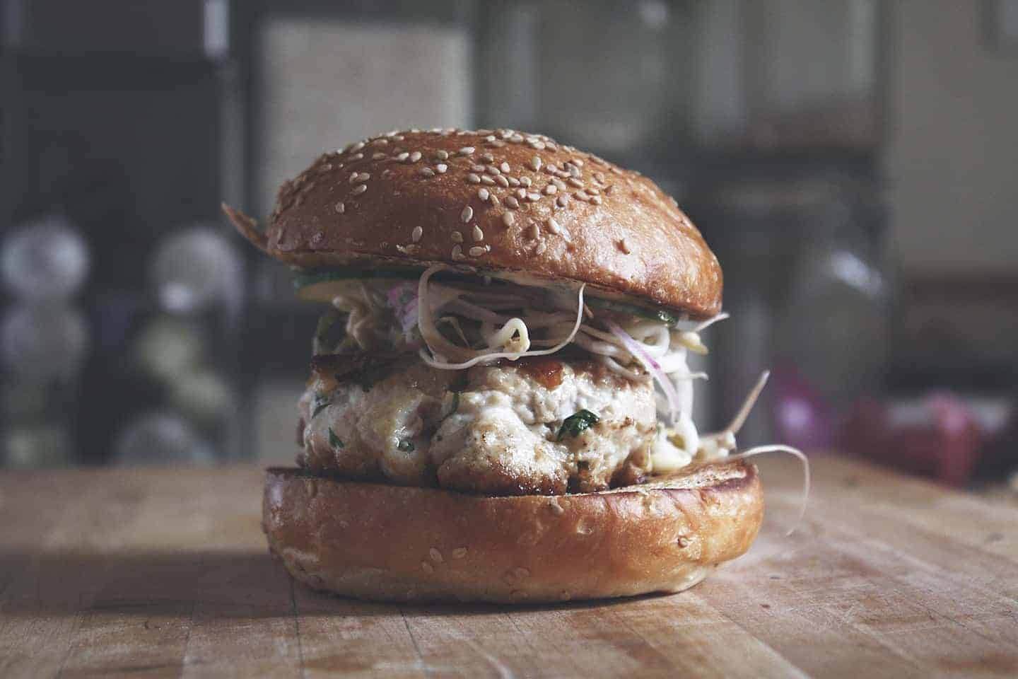 Thai Tuna Burger