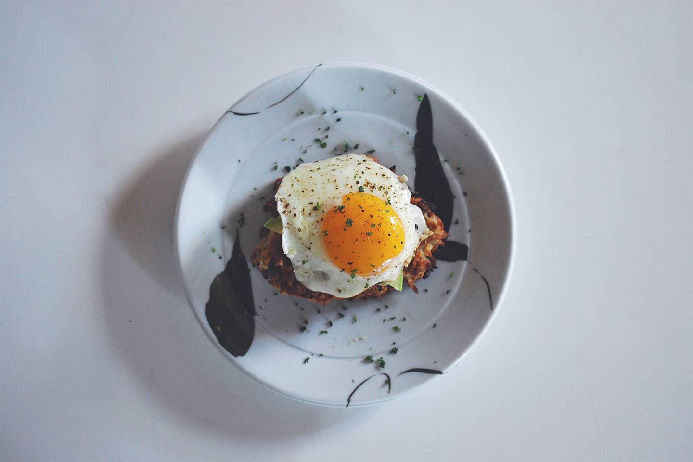 fried-eggs-potato-pancake