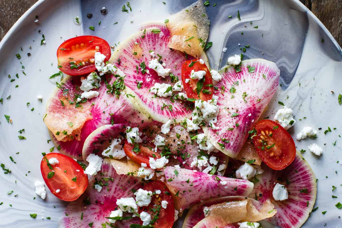 Watermelon Radish Salad + Pickles