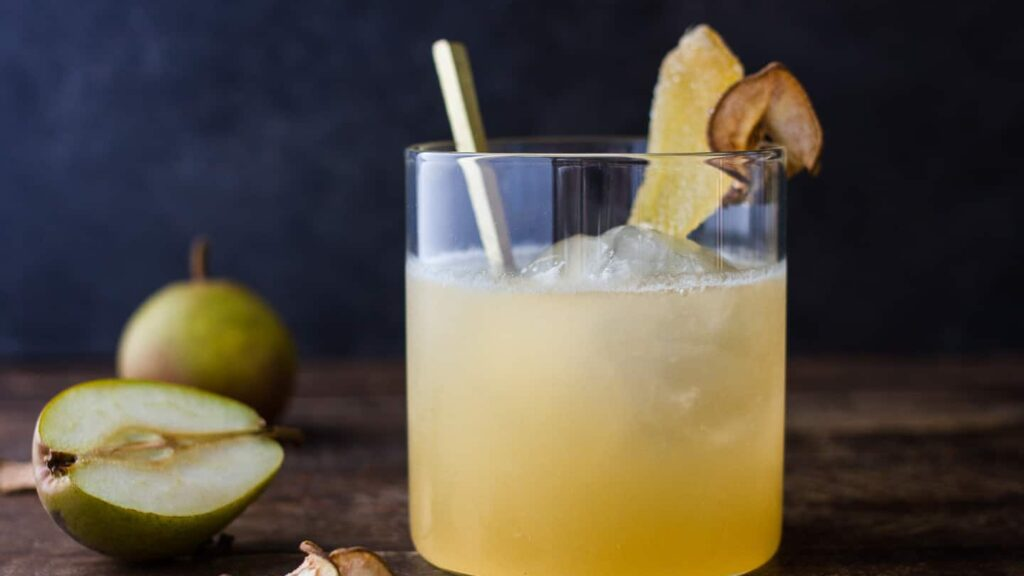 Ginger + Pear Cocktail