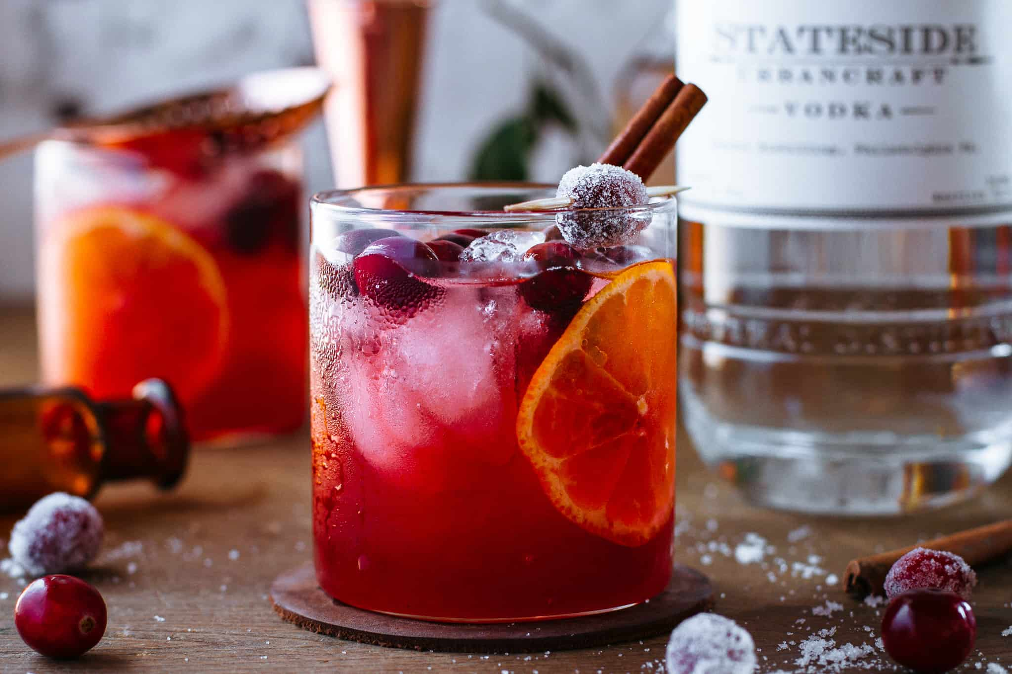 Bark + Bite Cranberry Cocktail