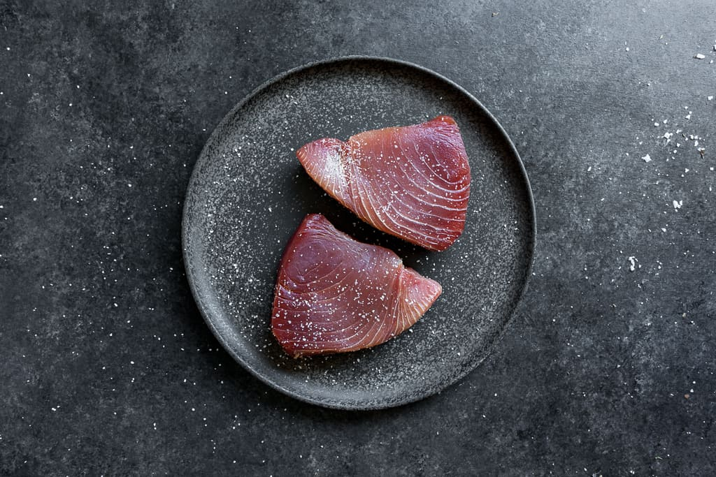 Pan Seared Yellowfin Tuna with Citrus & Ginger — Rikumo
