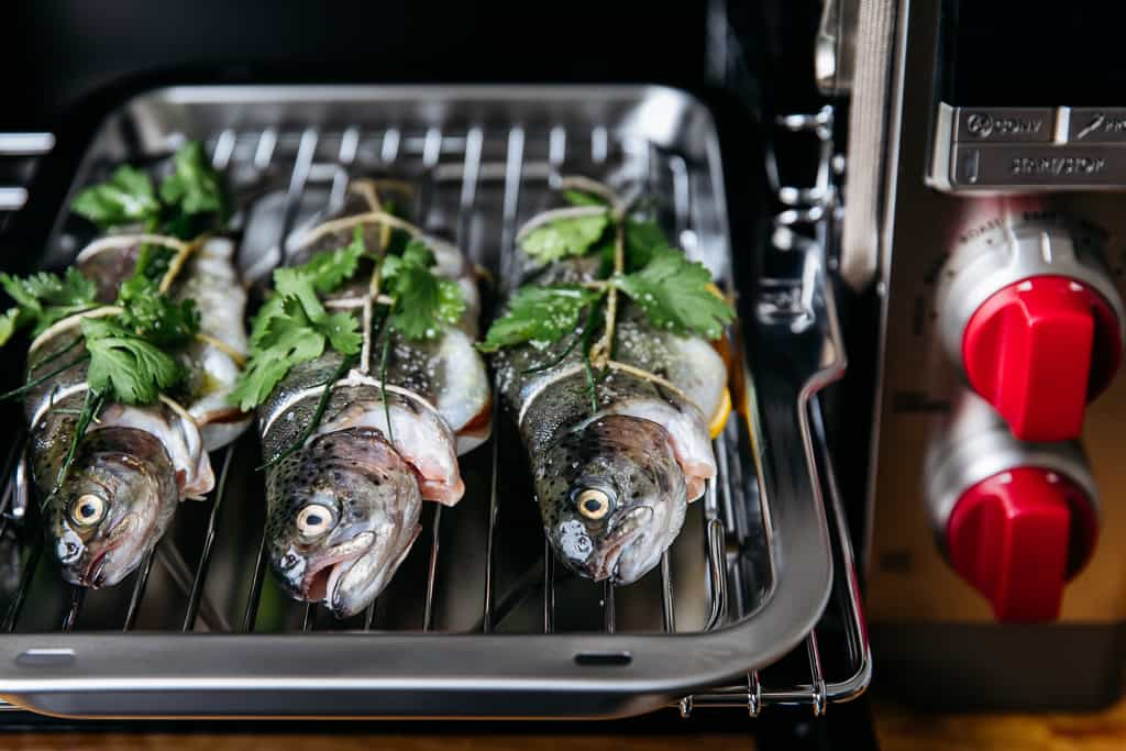 Wolf Gourmet Roasted Whole Fish with Herbs & Citrus