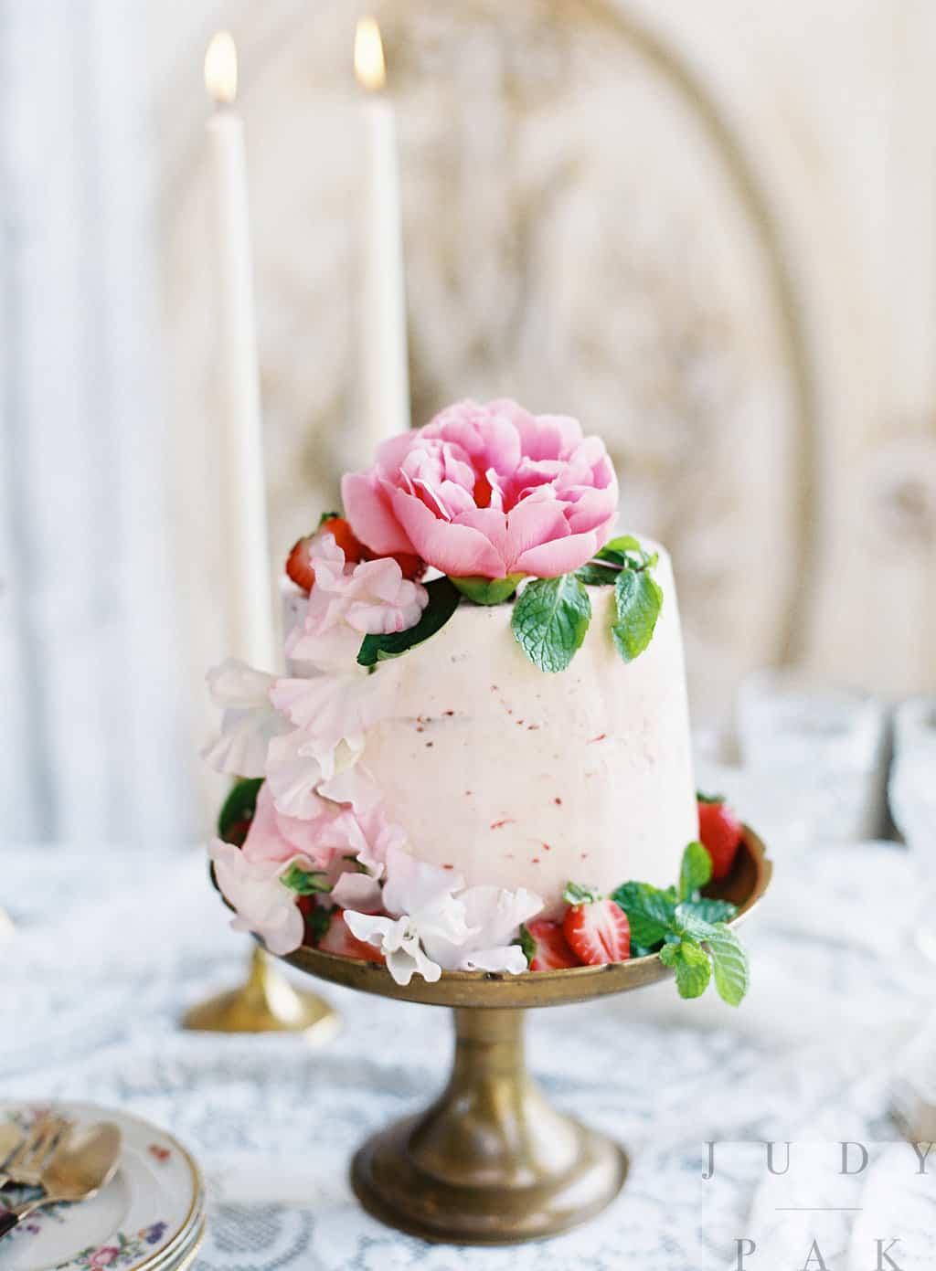 Putnam Summer Floral Workshop Cake