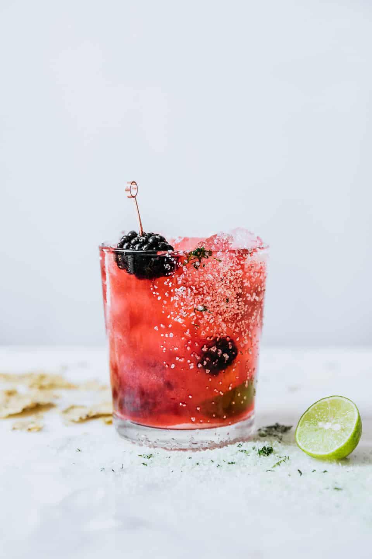 Powell & Mahoney Blackberry Basil Margarita