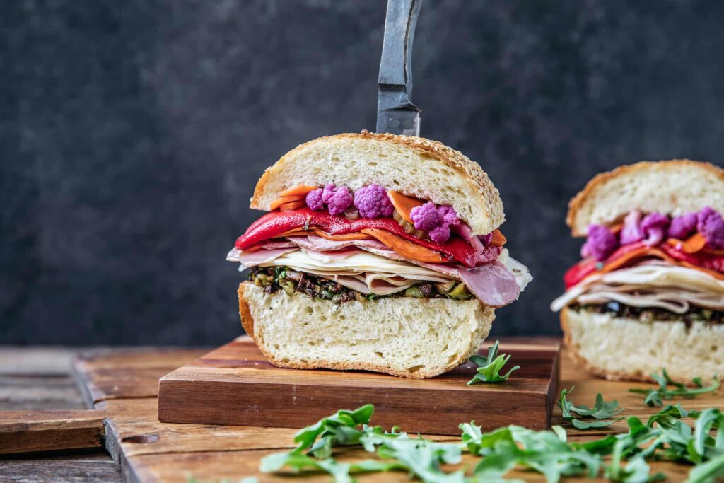 The Best Muffuletta Sandwich — An Updated Classic