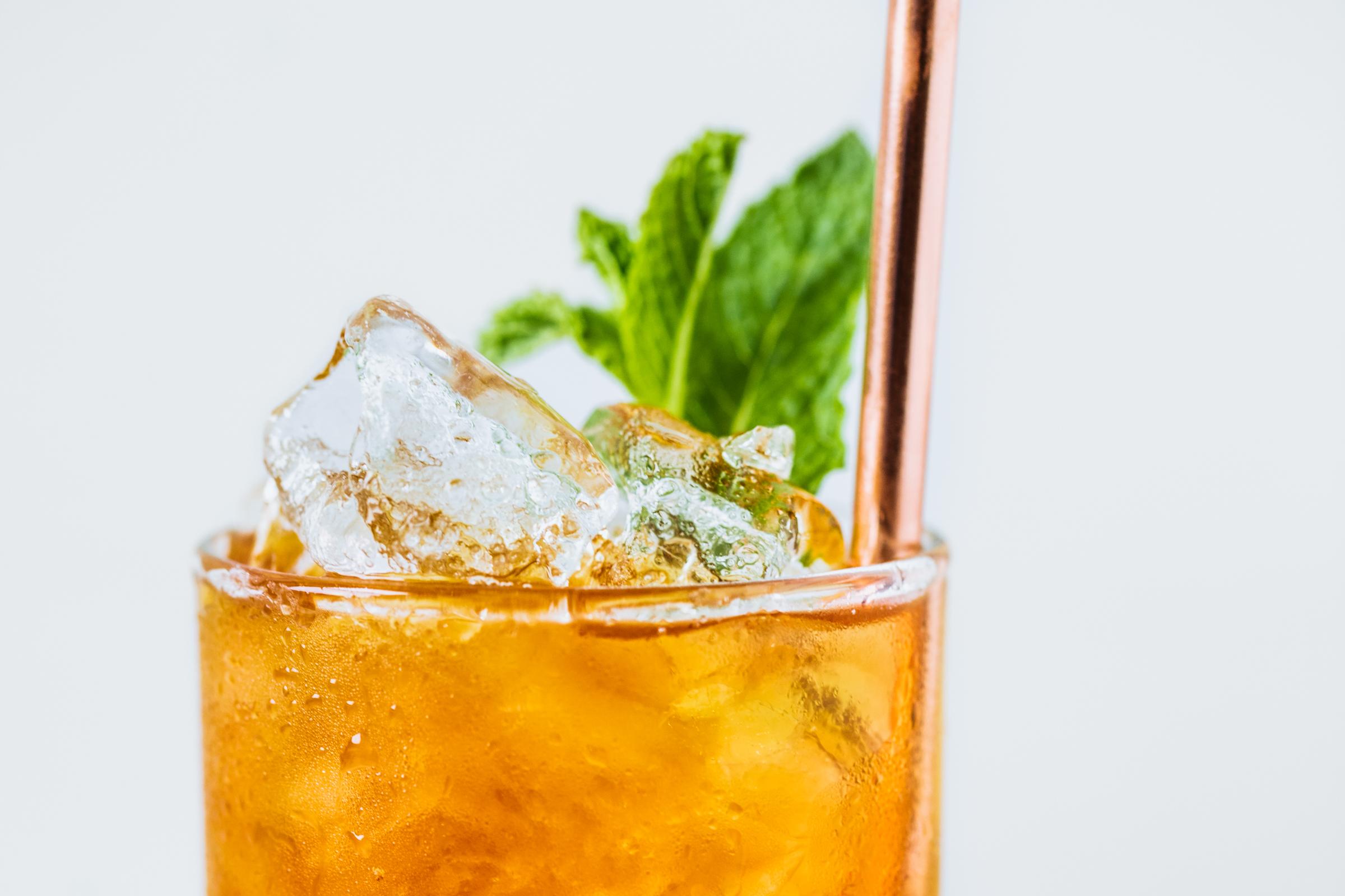 Italian amaro cocktail — D'estate