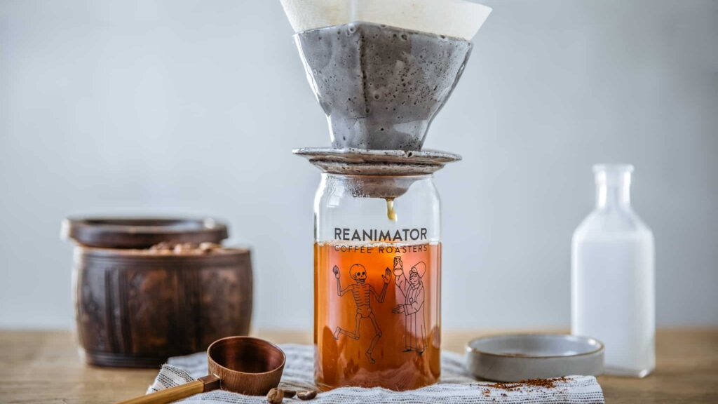 Japanese Iced Coffee v60 Pour Over
