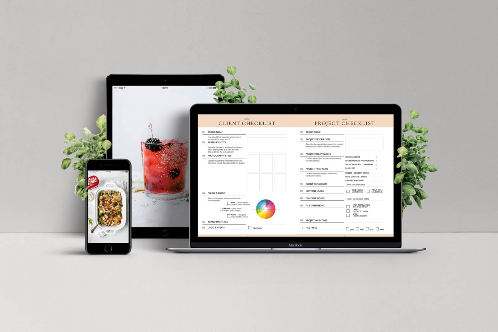 Essential Client Checklist for Food Bloggers