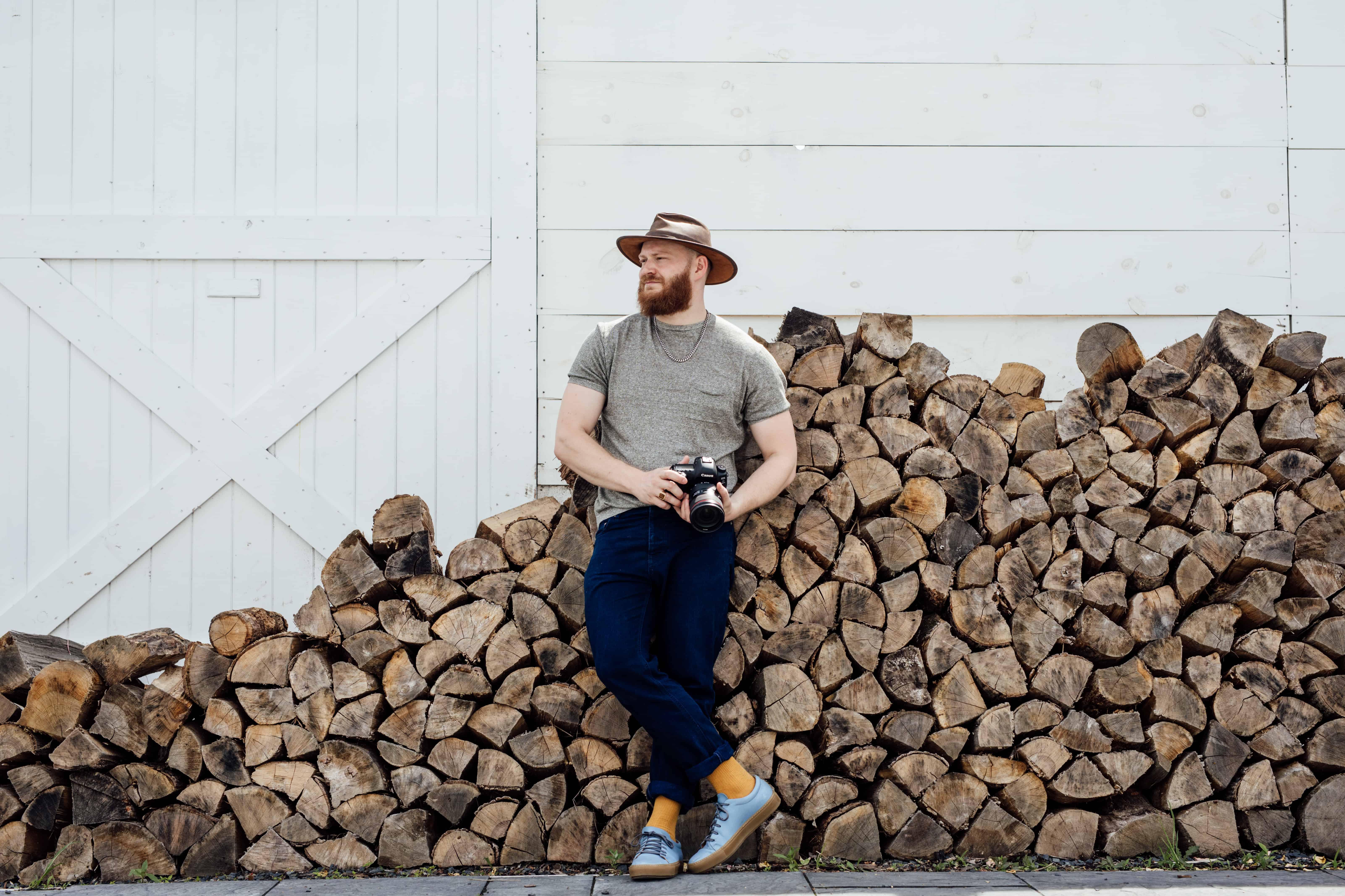 Evan Kalman Audreys Farmhouse Woodpile