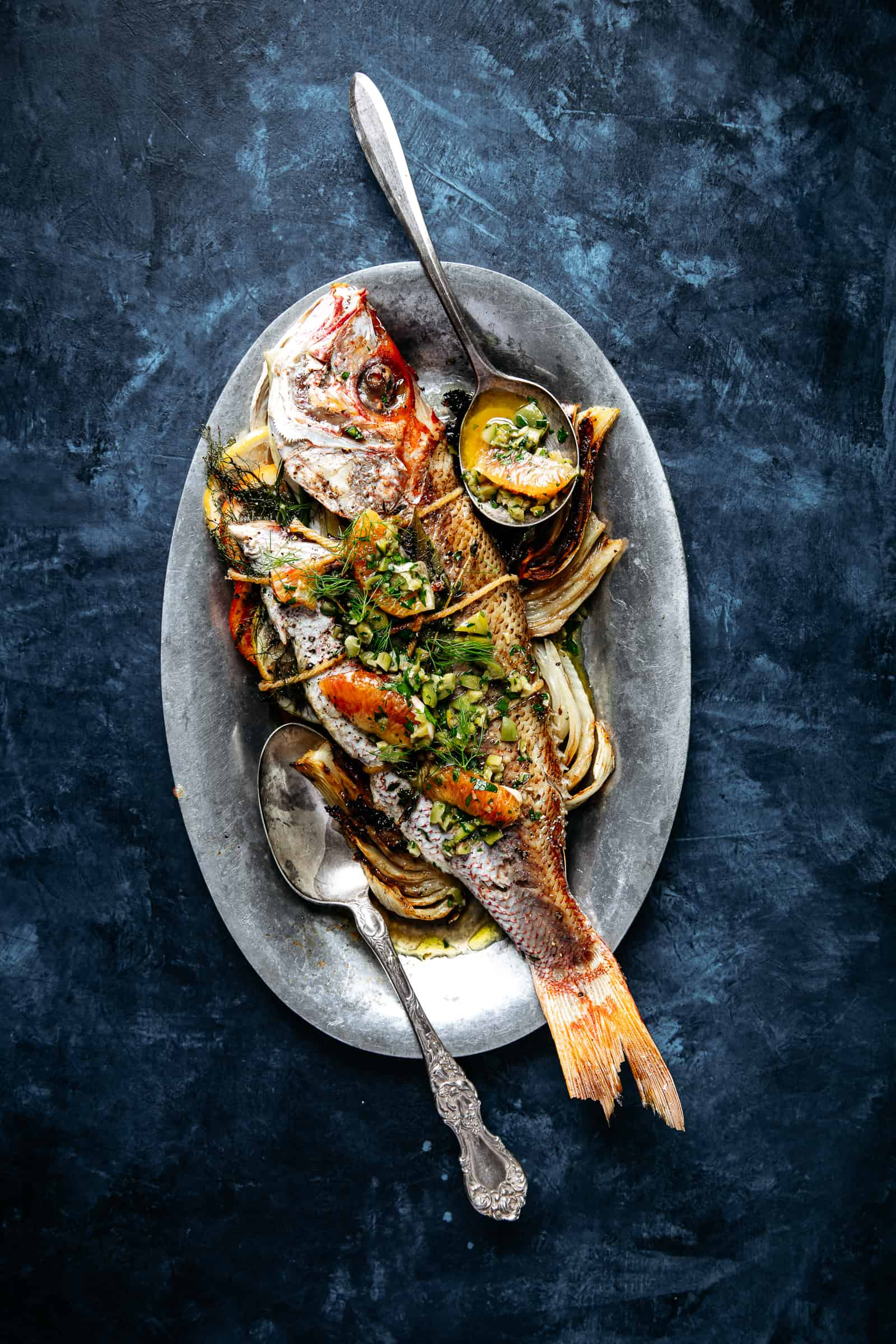 Whole Roasted Snapper and Fennel