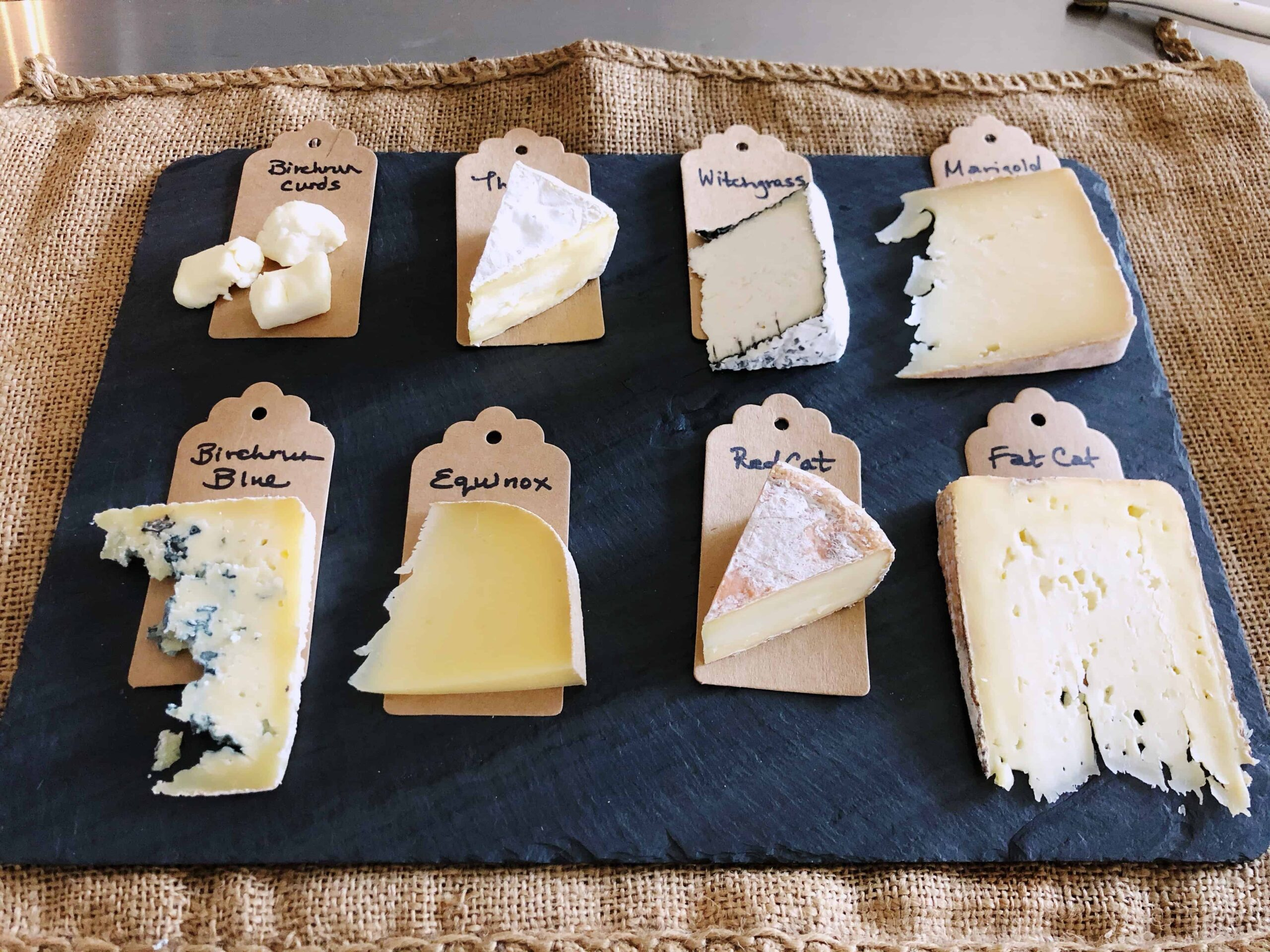 Fall Cheese and Cocktails Workshop 2019 Cheese Tasting