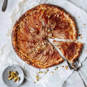 Ginger and Pear Galette