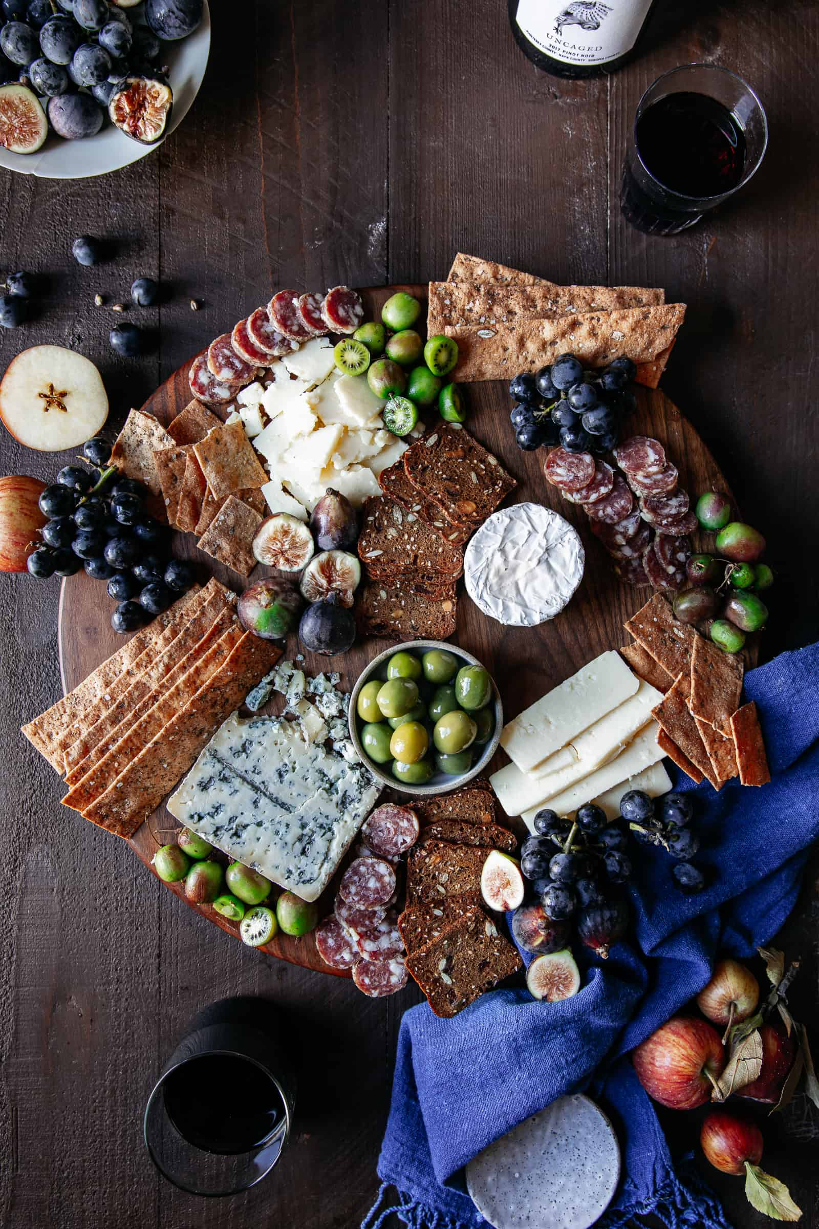 Cheeseboard Styling Step 4 — Place any accoutrements