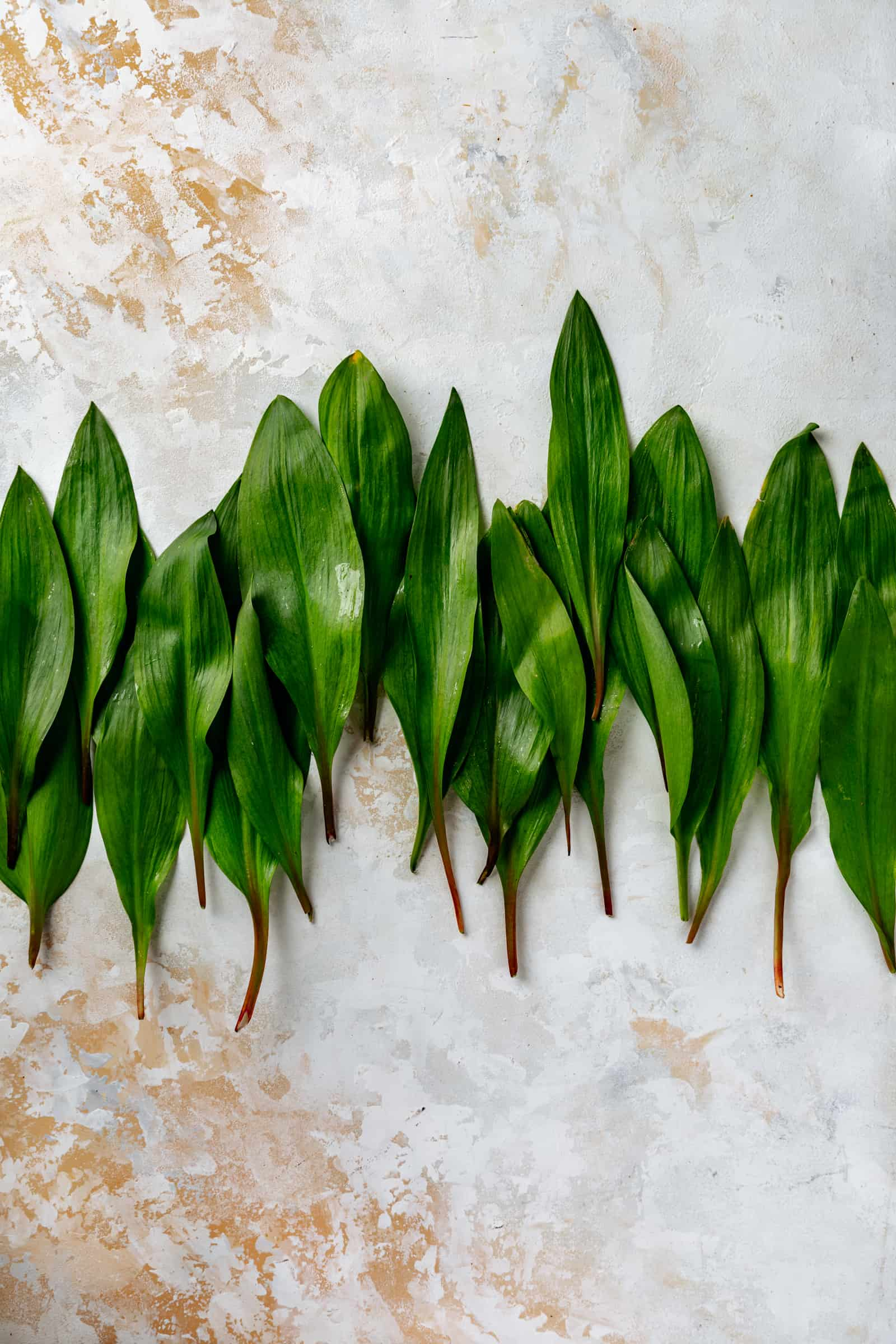Ramps stacked in a line